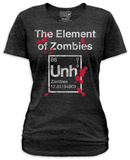 Juniors: The Element Of Zombies Shirts