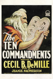 The Ten Commandments Movie Cecil B DeMille Poster Print Posters