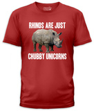 Chubby Unicorns (slim fit) T-shirts