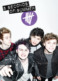 5 Seconds Of Summer - Single Cover Reprodukcje