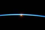 Thin Blue Line of Earth Atmosphere Poster Posters