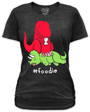 Juniors: Hashtag Foodie T-Shirt