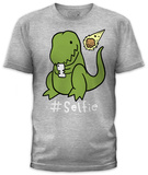 Hashtag Selfie (slim fit) Koszulki