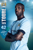 Manchester City Toure 14/15 Prints