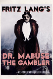 Dr Mabuse the Gambler Movie Fritz Lang Poster Print Prints
