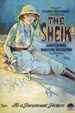 The Sheik Movie Rudolph Valentino Agnes Ayres Poster Print Prints