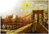Puente de Brooklyn, Nueva York Póster