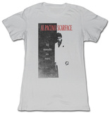 Juniors: Scarface - El Mundo T-shirts