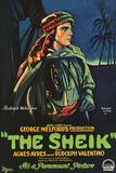 The Sheik Movie Rudolph Valentino Poster Print Print