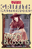 Broken Blossoms or The Yellow Man and the Girl Movie Lillian Gish Poster Print Posters