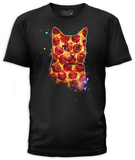 Pizza Cat (slim fit) T-shirts
