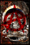 Anarchy Skull 3 Wall Sign
