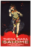 Salome Movie Theda Bara Poster Print Poster