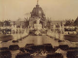 Fountain Coutan and the Central Dome, Paris Exposition, 1889 Photographic Print