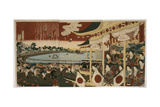 Horse Race in Ueno Park Giclee Print