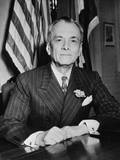 President Manuel Quezon of the Philippines Photographic Print