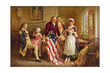 Betsy Ross, 1777 Giclee Print