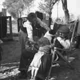 Destitute Family, American River Camp, Sacramento, California Photographic Print