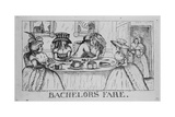 Bachelors Fare Giclee Print