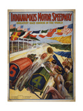 Indianapolis Motor Speedway, Greatest Race Course in the World Giclee Print