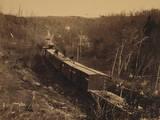 View on Orange and Alexandria Rr Near Union Mills, VA Photographic Print