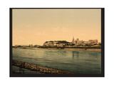 Palace-Chapel and Bridge over the Rhone, Built 1177 and 1488 Giclee Print