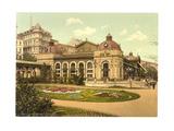City Park, Carlsbad, Bohemia, Austro-Hungary Giclee Print