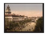 Hotel de Ville Place, Avignon, Provence, France Giclee Print
