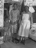 Inhabitants of Gees Bend, Alabama Photographic Print