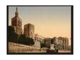 Pope's Castle, Avignon, Provence, France Giclee Print