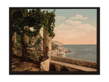 Amalfi, from the Capuccini, Naples, Italy Giclee Print