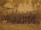 Co. 3rd Connecticut Infantry, Camp Douglass, 1861 Photographic Print