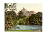 Doune Castle from the Teith, Scotland Giclee Print