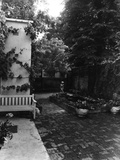 The House of Molly Bishop - Courtyard Garden Photographic Print
