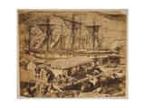 Balaklava Harbour, the Cattle Pier Photographic Print