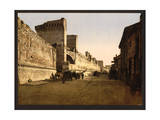 The Ramparts, Avignon, Provence, France Giclee Print