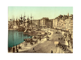 Old Harbour (Vieux-Port), Marseille, France Giclee Print