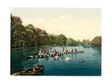 Franzenbad, Lake in the Park, Carlsbad, Bohemia, Austro-Hungry Giclee Print