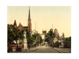 Church Bridge, Breslau, Silesia, Germany Giclee Print