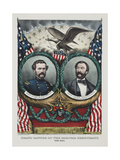 Grand Banner of the Radical Democracy, for 1864 Giclee Print