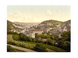 From the Bellevue Street, Carlsbad, Bohemia, Austro-Hungary Giclee Print