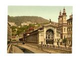 Sprudel Colonnade, Carlsbad, Bohemia, Austro-Hungary Giclee Print