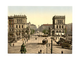 The Halle Gate and Belle Alliance Square, Berlin, Germany Giclee Print