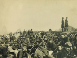 Union Soldiers Entrenched Along the West Bank of the Rappahannock River at Fredericksburg, Virginia Photographic Print