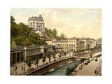 The Casino, Carlsbad, Bohemia, Austro-Hungary Giclee Print