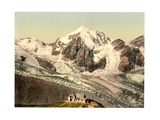 Ortler Territory, Schaubachhutte, with Konigspitze, Tyrol, A Giclee Print