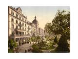 Interlaken, Grand Hotel Victoria, Bernese Oberland, Switzerland Giclee Print