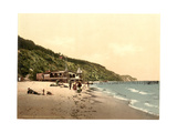 Sellin, View of the Beach, Isle of Rugen, Germany Giclee Print