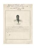 Joseph Cinquez, the Brave Congolese Chief Giclee Print
