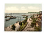 The Harbor, Sassnitz, Isle of Rugen, Germany Giclee Print